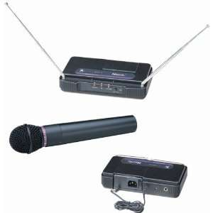 Professional VHF Wireless Microphone System, AW 200 Electronics