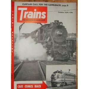Trains Magazine Carnivals by Rail (October, 1954) staff