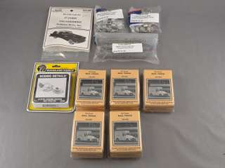 HO SCALE LOT   10 ASSORTED VEHICLE KITS MAIL TRUCKS TRACTOR TRAILER