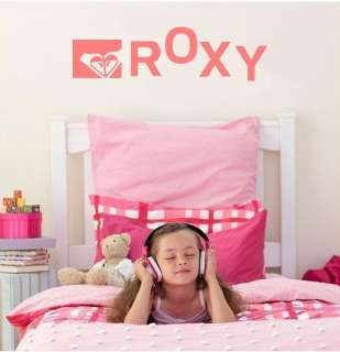 ROXY Girl KIDS VINYL WALL ART BEDROOM VINYL DECAL