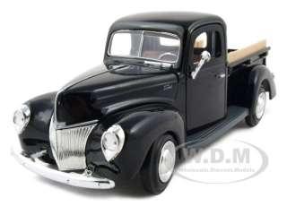 1940 FORD PICKUP TRUCK BLACK 124 DIECAST MODEL CAR