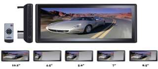 PYLE PLM102 10.2 TFT LCD CAR REARVIEW MIRROR MONITOR