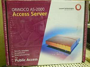 Avaya Lucent Orinoco AS 2000 Wireless router Access Point NEW