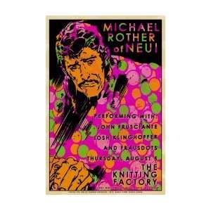 MICHAEL ROTHER   Limited Edition Concert Poster   by
