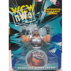 Macho Man Randy Savage WCW Collectible Wrestlers 1998