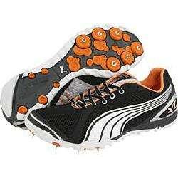 Ngong XC III Spike Black/White/Silver Metallic/Russet Orange Athletic
