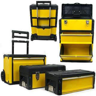 Trademark Tools 75 4650 Oversized Portable Tool Chest, 3 in 1 Tool Box