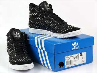 Adidas Top Ten Hi Sleek W Black/Black/White Classic High Diamond 2012