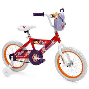 16 Girls Huffy Dora the Explorer Bicycle Bikes & Riding Toys