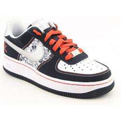 Nike Boys Air Force 1 Black/ White Basketball Shoes