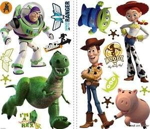 33 Big Disney Toy Story Kids RoomWall Art Sticker Decal