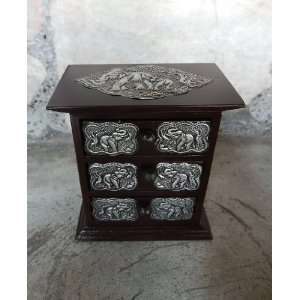 Small Cabinets with Drawers Teakwood Teak Wood Wooden Box