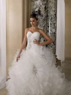 Sweetheart wedding Bridal Gown Bridlesmaid dress Ball Gown Prom US4 14