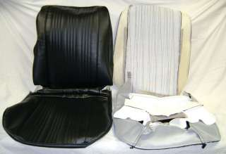 1967 GTO/Lemans Black Bucket Seat Covers