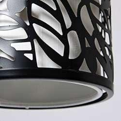 Metal Leaf Pendant Light