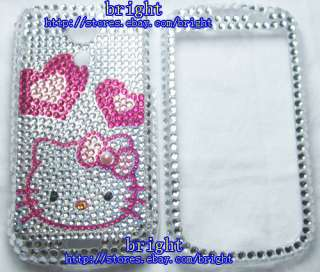 Hello kitty Bling Case For Samsung Epic 4G Galaxy S #4