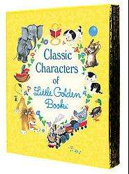 Classic Characters of Little Golden Books Boxed Set (Hardcover