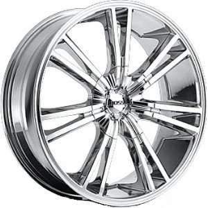 Boss 339 20x8.5 Chrome Wheel / Rim 5x112 & 5x120 with a 38mm Offset