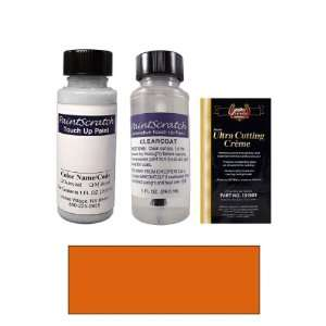 1 Oz. Imperial Orange Pearl Metallic Paint Bottle Kit for