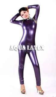 Unisex Latex Rubber Tight Catsuit Zentai Suit Clothes