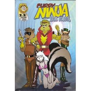 Furry Ninja High School Number 2 of 2 Comic (Welcome): Books