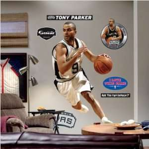 Wallpaper Fathead Fathead NBA Players & Logos tony Parker