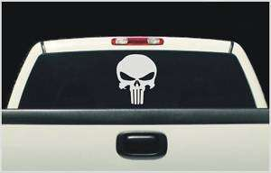 Fits Ford F150 punisher skull rear window decal