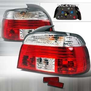 1997 2000 Bmw 5 series 5 Series E39 Altezza Tail Light Red