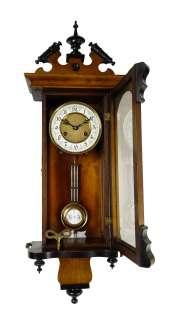 Rare, very small Antique German Junghans wall clock at 1880/1900 RA