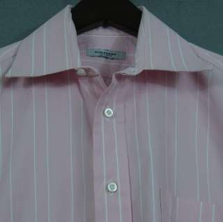 Burberry, London, sprd collar brrl cuff shirt, 15/33.5