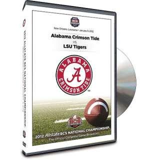 2012 Allstate BCS National Championship Game Alabama Crimson Tide Vs