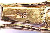 Cubic Zirconia Accented / Gold Plated Sterling Silver Tennis Bracelet