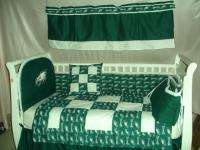 Baby Nursery Crib Bedding Set w/Philadelphia Eagles NEW