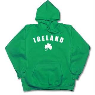 IRELAND irish/celtic eire hoodie/hooded sweatshirt XL