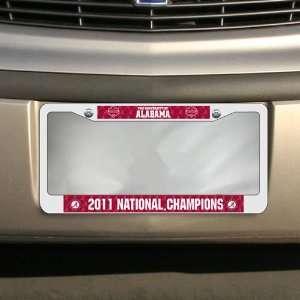 Alabama Crimson Tide 2011 BCS National Champions Chrome