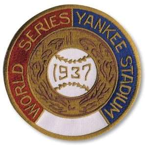1937 New York Yankees World Series MLB Baseball Patch Cooperstown