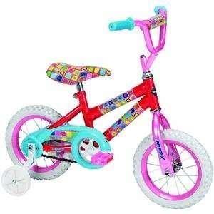 Huffy 12 Inch Girls So Sweet Bike (Candy Pink/Bubble Gum)