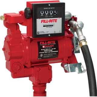 Tuthill Fill Rite DualVage Fuel Pump w/Meter  115/230V FR311V