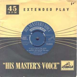 Louis Armstrong and his Orchestra on HMV 7EG8028 (Eng.)
