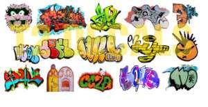 Scale Custom Graffiti Decals #16
