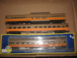 AHM/RIVAROSSI HO SCALE IC PASSENGER CAR SET (6)