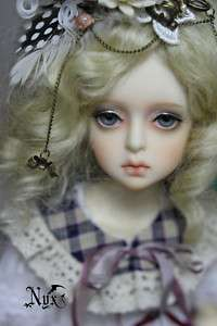 Lethe girl head OR doll 1/4 doll bjd MSD super dollfie