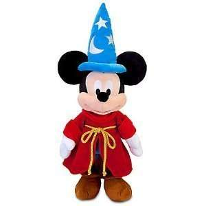 Disney Mickey Mouse Sorcerer 24in Plush   Mickey Stuffed