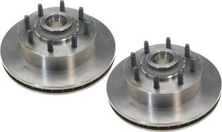 Front Disc Brake Rotors Dodge B2500 B3500 Ram Van 95 03