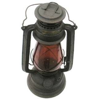 Red Globe Union Pacific Railroad RR Lantern Everything