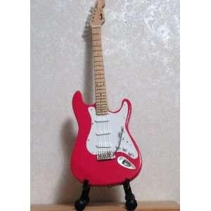 Eric Clapton Candy Red Miniature Guitar Replica