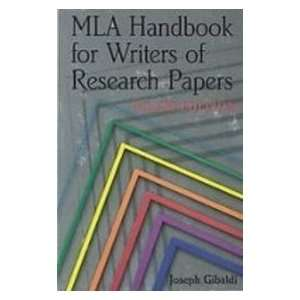 Mla Handbook for Writers of Research Papers (9781435298019
