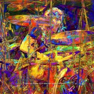 JOHN BONHAM  13 x 13  READY TO HANG GALLERY WRAP CANVAS Led Zeppelin