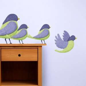 Stickers for Baby Room   Repositionable & Removable Bird Wall Decals