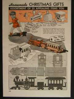 BB Toy Train Plan (Woodworking Project Paper Plan) Home Improvement